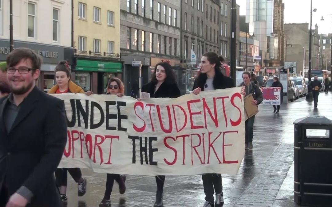 Dundee UCU Strikes