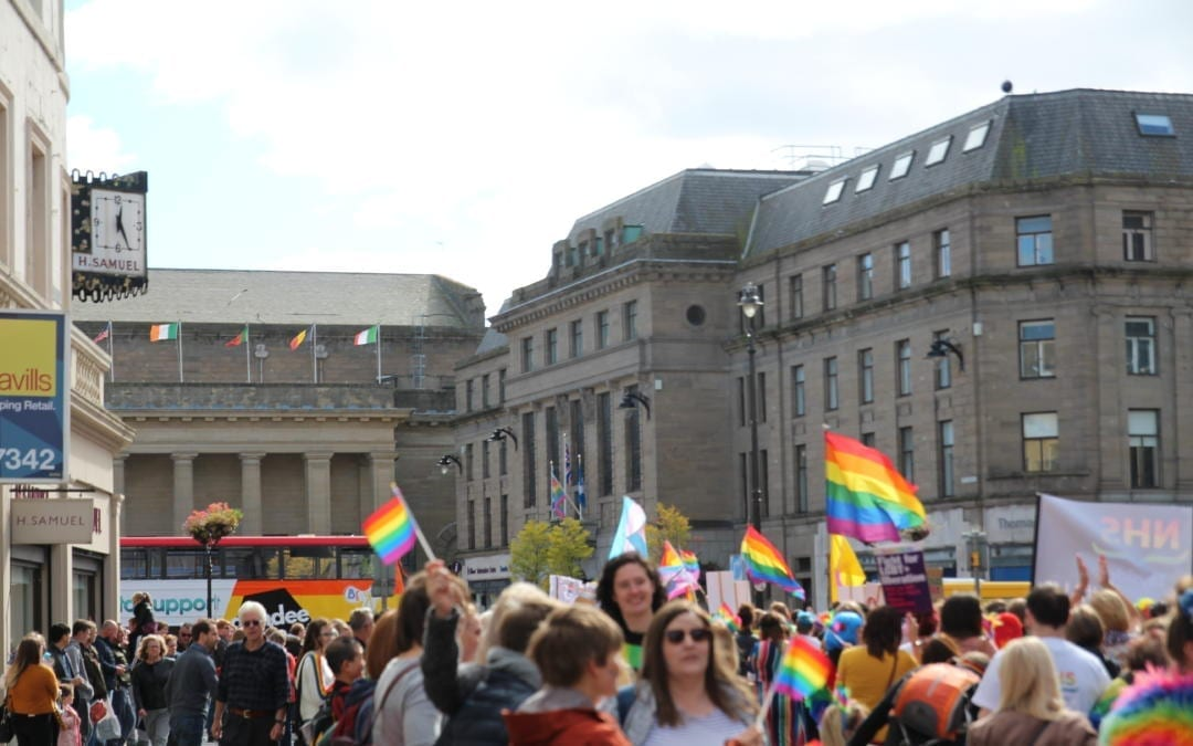 Dundee's first pride unites the community