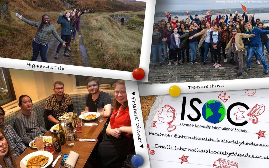 Society Spotlight International Student Society