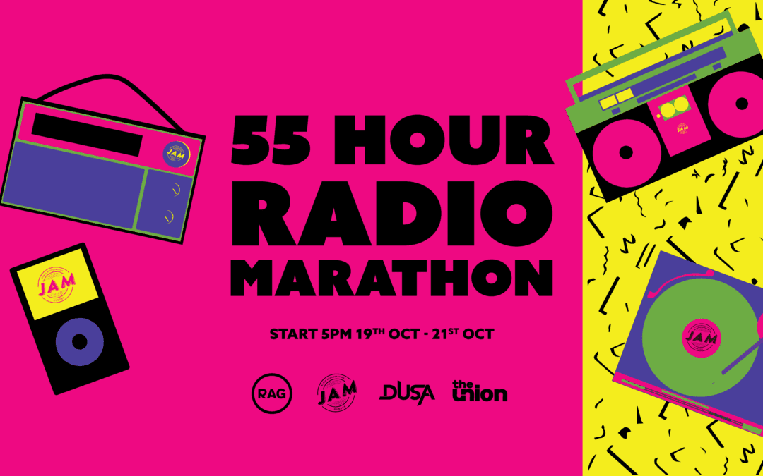 55 Hour Radio Marathon – Day 1