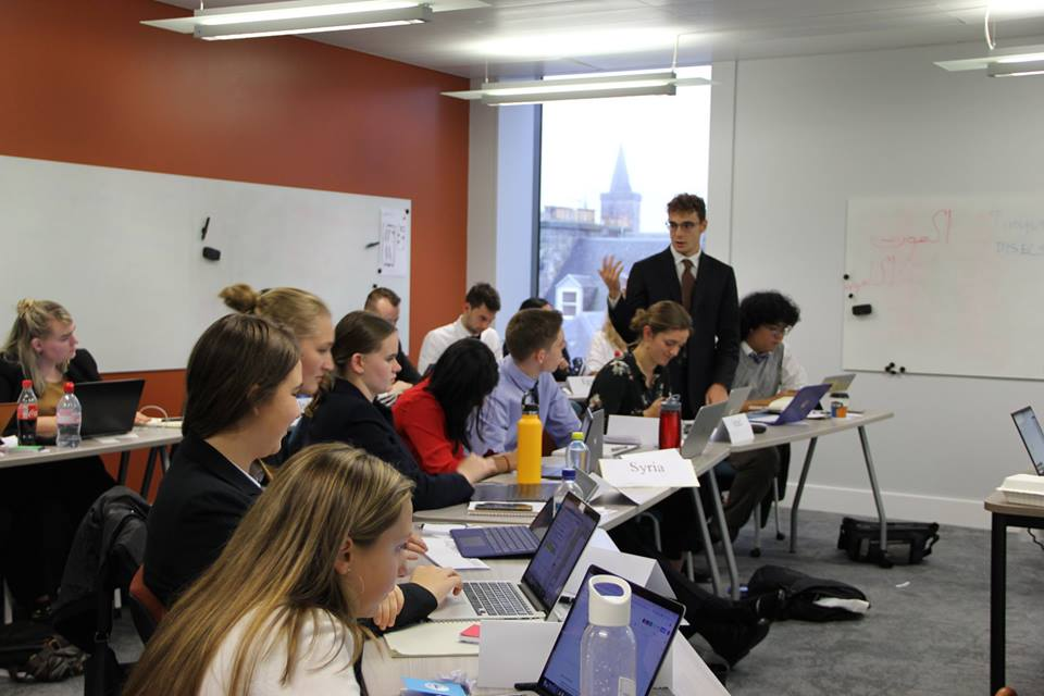 Debate, diplomacy and dining: Our weekend at a Model United Nations conference