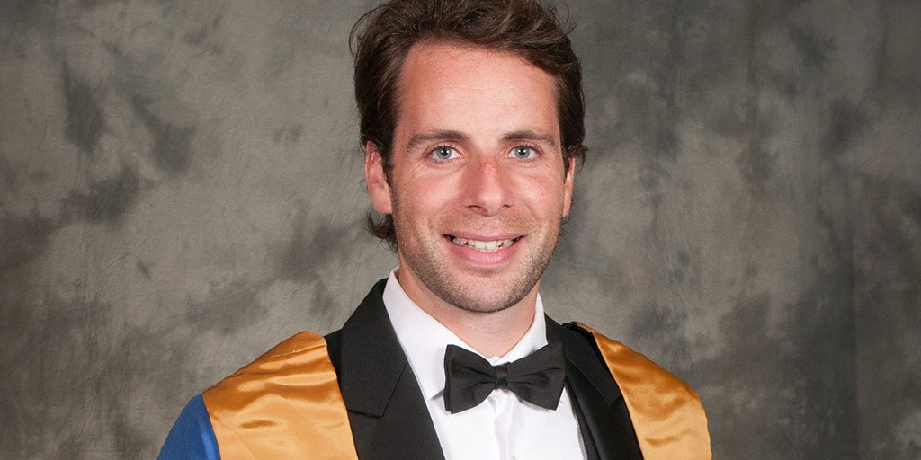 Mark Beaumont declared Rector of the University of Dundee