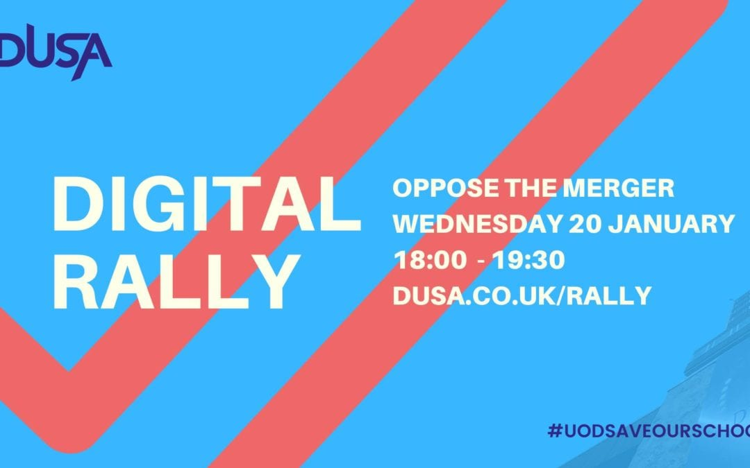 Digital Rally – Oppose the Merger