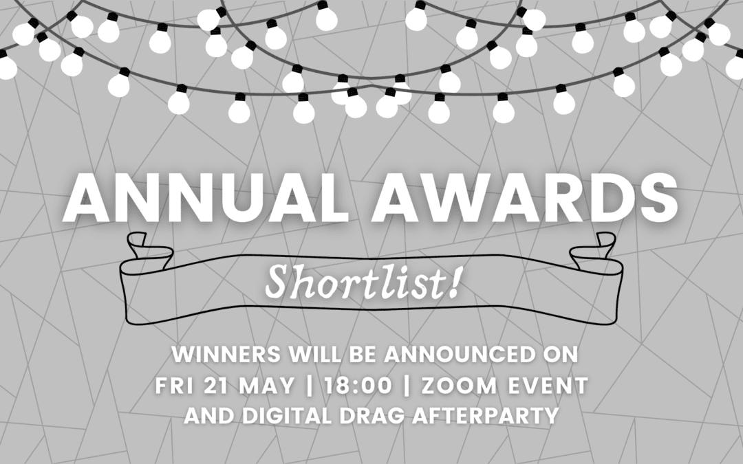 Annual Awards 20/21 Shortlist