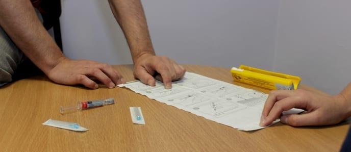 DUSA Staff Receive Naloxone Training