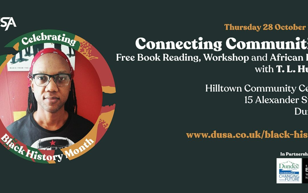 Black History Month: Connecting Communities with T. L. Huchu